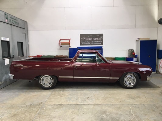 Classic El Camino Paintwork Repair Completed | Precision Paint