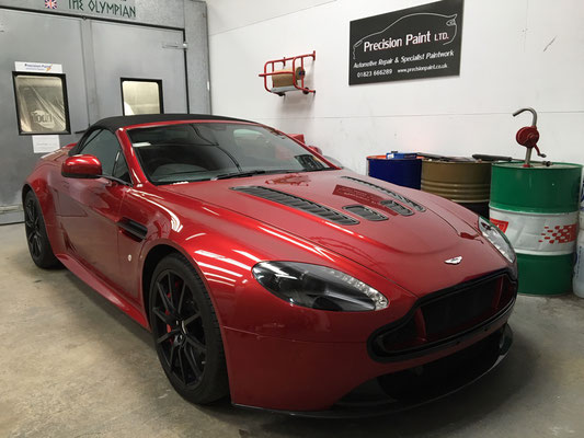 Aston Martin Vantage V12 Stone and Chip Repair | Precision Paint