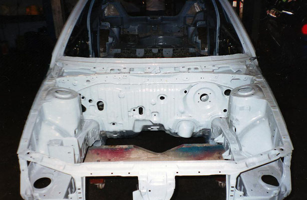 Rally Car Build Work In Progress | Precision Paint | Wellington | Somerset