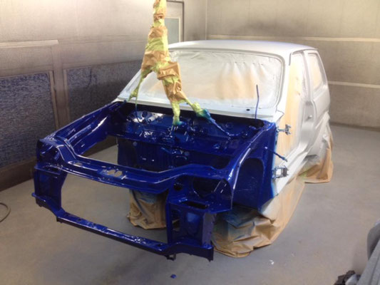 Rover Metro Race Car Build | Precision Paint | Wellington