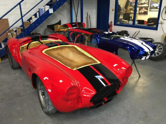 Cobras In Workshop | Precision Paint Wellington