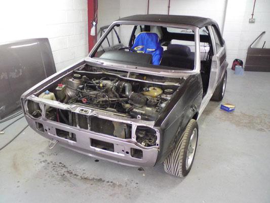 VW Mark 2 Golf | Repaint | Precision Paint | Wellington | Somerset