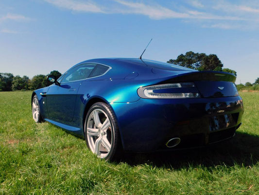 Aston Martin V8 Vantage After Body Work Carried Out by Precision Paint | Wellington