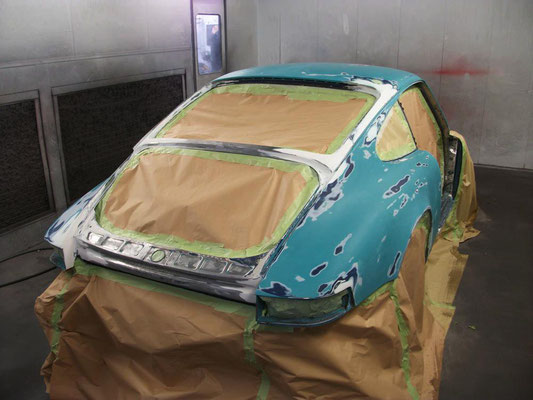 Vintage Porsche 911 Race Car Refurbishment | Precision Paint | Wellington Somerset