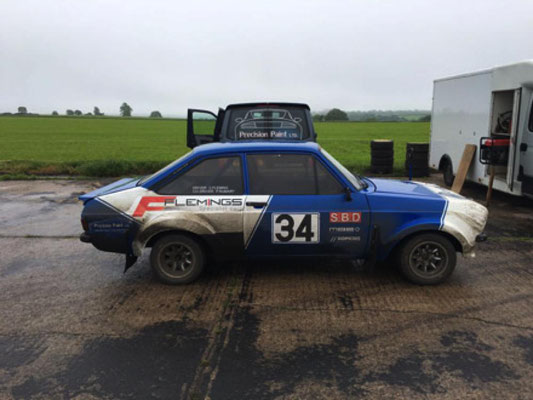 We were service crew for this  stunning MK2 Escort | Precision Paint | Wellington | Somerset