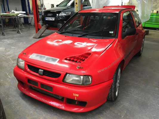 Seat Ibiza Race Car | Precision Paint Wellington