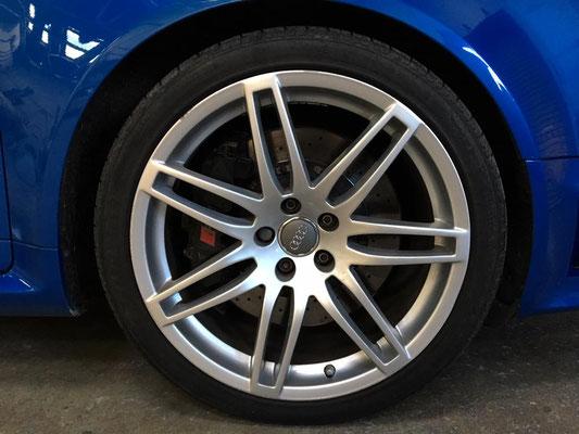 Alloys | Audi RS4 Light Damage Repair | Precision Paint | Wellington