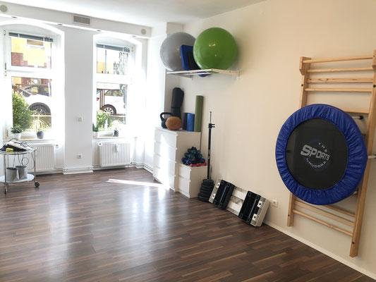 Praxis Jaron - Privatpraxis für Osteopathie und Physiotherapie - Sportraum