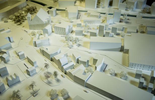 OSMOS Group - Projet: Ville Vigilante - Echelle: 1/200ème