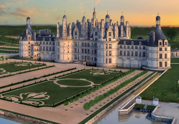 Le Champ du Pré - Bed and Breakfast in France - to visit near us : Chateau de Chambord