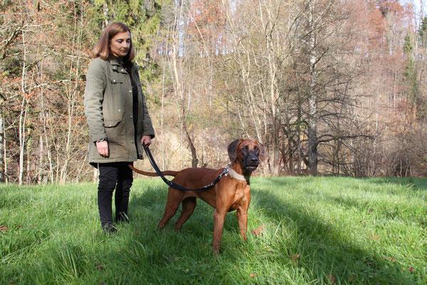 Sandra mit Chinara