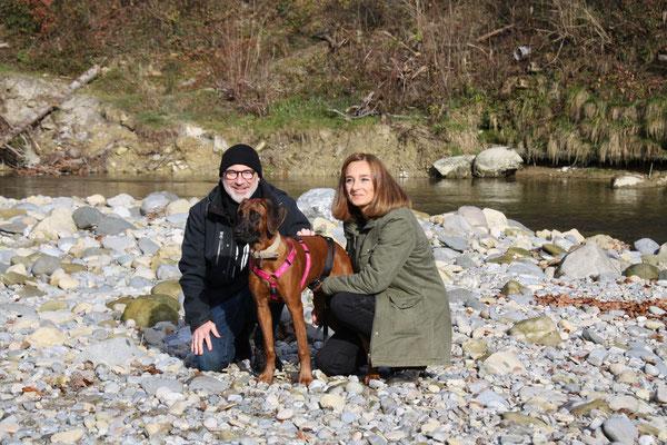 Aurelio und Sandra mit Chinara