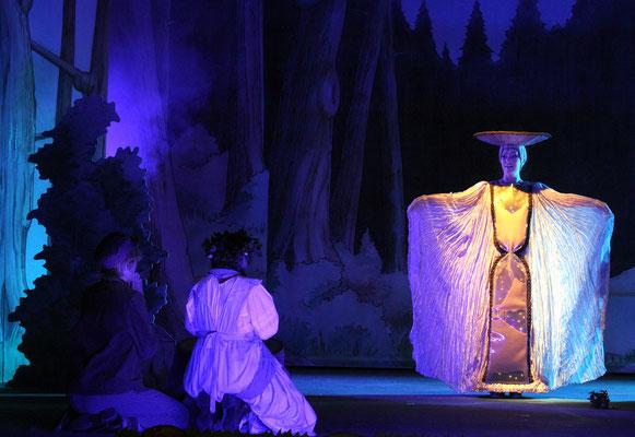 Sandmännchen - Hänsel und Gretel - Landestheater Detmold - Foto: Klaus Lefebvre