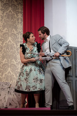 Hanna Glawari - Die Lustige Witwe - Opernakademie Bad Orb - Foto: Jan-Paul Nachtwey
