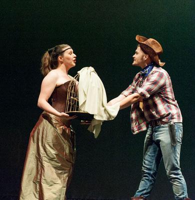 Erste Dame - Die Zauberflöte - Sommeroper Bamberg - Foto: Gerhard Schlötzer