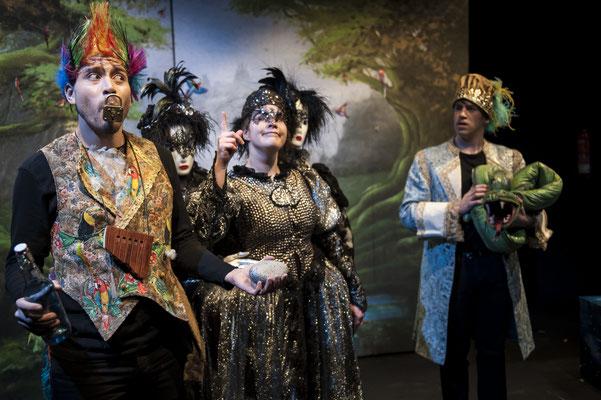 Erste Dame - Die kleine Zauberflöte - Landestheater Detmold - Foto: Björn Klein