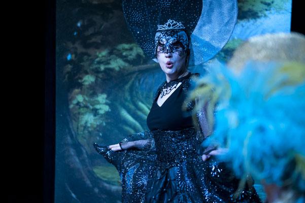 Königin der Nacht - Die kleine Zauberflöte - Landestheater Detmold - Foto: Björn Klein