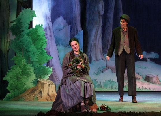 Hänsel und Gretel - Gretel - Landestheater Detmold - Foto: Klaus Lefebvre