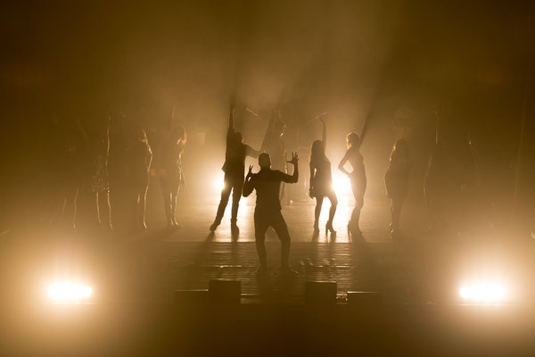 fotografia di scena musical