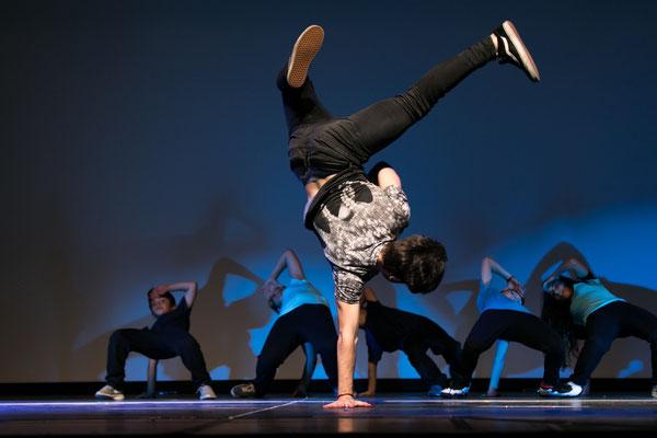 fotografia di scena danza breakdance