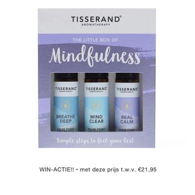 Tisserand The little box of mindfulness: binnenkort te koop in de Webshop HSP Essentials