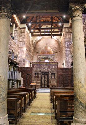 """""""Hängende Kirche"""" in Kairo. Foto: Elfriede Putzer"""