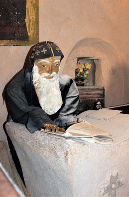 Ein koptischer Priester. Foto: Elfriede Putzer