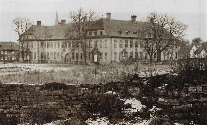 Klosterruine 19.2.1973. Foto: © Arnulf Brückner. LWL-Denkmalpflege, Landschafts- und Baukultur.