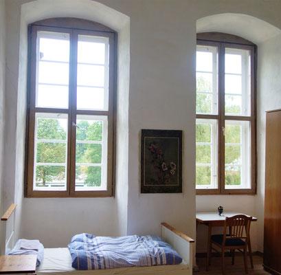 Doppelzimmer im Koptischen Kloster. Foto: Jennifer Peppler