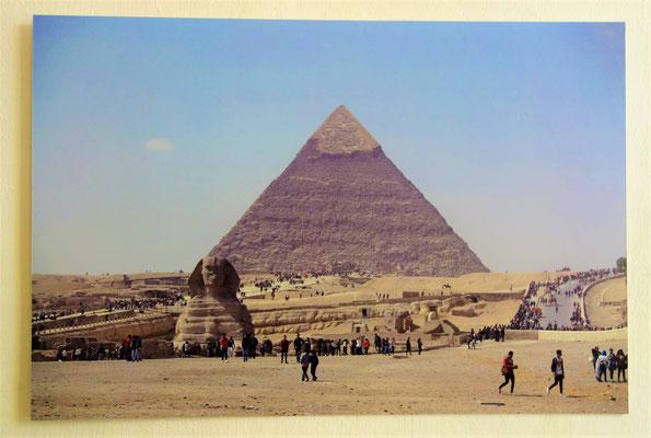 Die Pyramiden von Gizeh, die zu den ältesten Bauwerken der Menschheit zählen und im Alten Reich (um ca. 2500 v. Chr.) errichtet wurden, waren zur Zeit des Exodus fast 1500 Jahre alt. Foto: Christian Hohmann