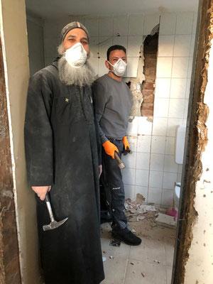 """Während der """"betrieblichen Zwangspause"""" wird im Kloster weiter intensiv gebetet und gearbeitet."""