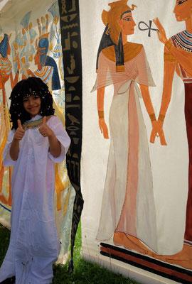 Auf den Spuren der Pharaonen... Foto: Jennifer Peppler