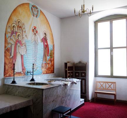 Die Taufkapelle.  Foto: Jennifer Peppler
