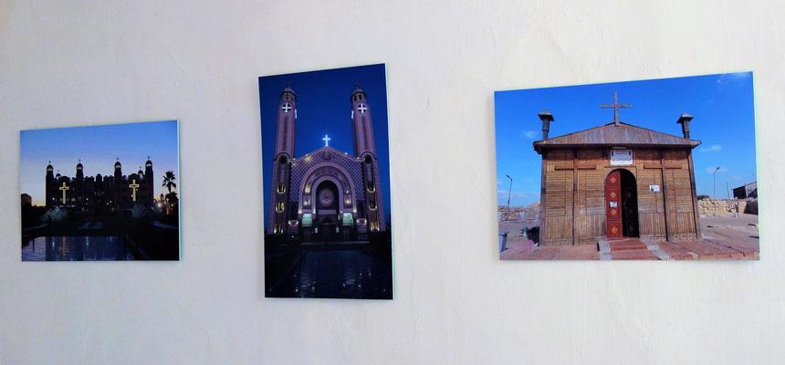 Das Kloster Abu Mena (nach Hl. Mena aus 3./4. Jh.) ist die bedeutendste koptische Pilgerstätte Ägyptens und ein christliches Heiligtum der Spätantike. Die Ausgrabungsstätte des Klosters gehört zum UNESCO-Weltkulturerbe. Fotos: Dr. Christian Hohmann