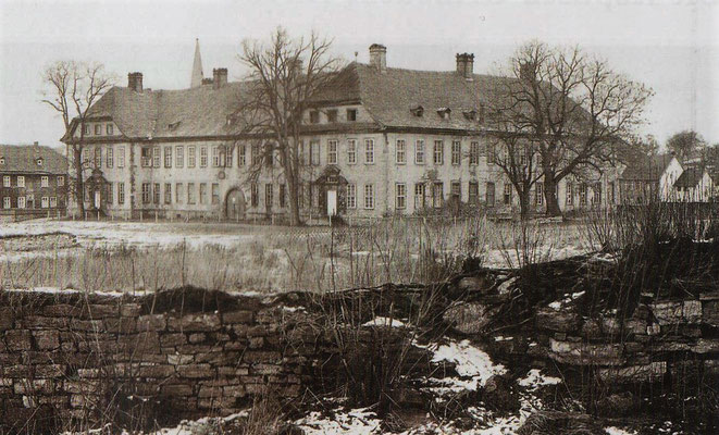 Das Kloster im Jahr 1952