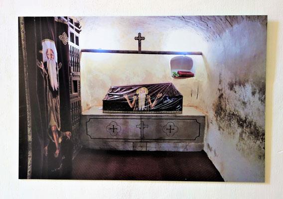 Das Grab des Hl. Paulus von Theben im St. Paulus Kloster in Ägypten. Foto: Dr. Cristian Hohmann