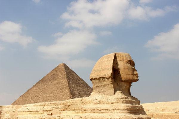 Die große Sphinx von Gizeh. Foto: Elfriede Putzer