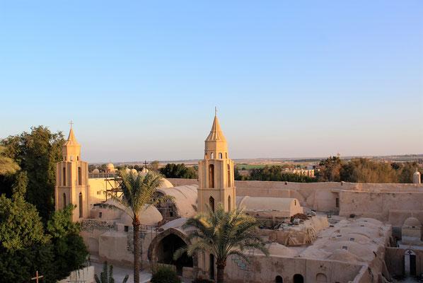 St. Antonius-Kloster in Ägypten. Foto: Elfriede Putzer