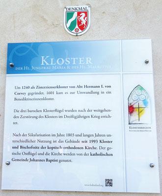 Das Koptische Kloster untersteht dem Denkmalschutz des Landes NRW. Foto: Jennifer Peppler