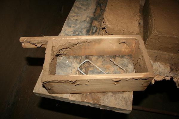 Lehmziegelherstellung im Koptischen Kloster im Jahr 2013. Foto: Pfarrerin Brigitte Goede