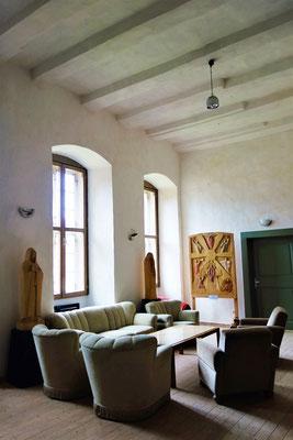 Räume zum Verweilen im Kloster. Foto: Jennifer Peppler