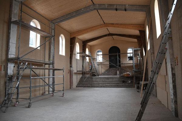 Renovierung der Kirche in Borgentreich durch Koptische Kirche und mit Spenden. Foto: Bischof Anba Damian