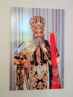 S.H. Papst Tawadros II., 118. Patriarch auf dem Thron des Heiligen Apostels Markus, Oberhaupt der Koptisch-Orthodoxen Kirche weltweit