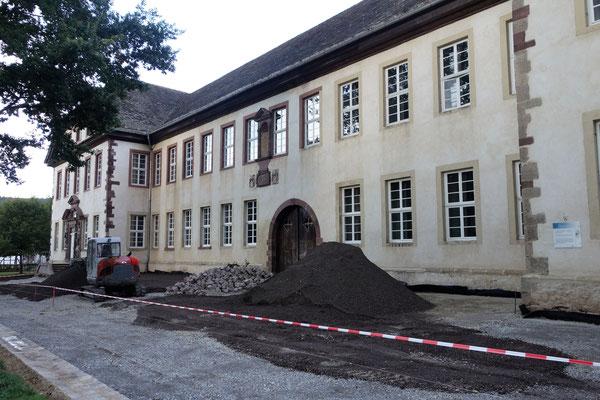 Der Klosterweg entsteht. Foto: Daniela Rutica