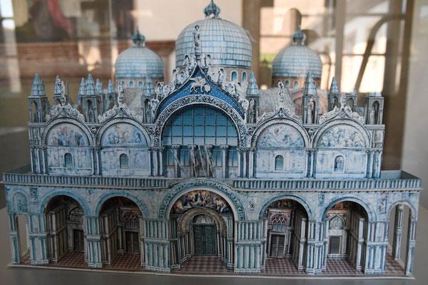 Basilika di San Marco in Venedig (Vorderansicht). Foto: Maria Hopp