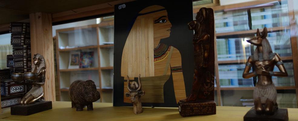 Altägyptische Souvenirs. Foto: Jennifer Peppler