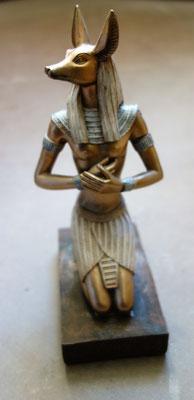 Anubis (schakalköpfiger Balsamierungsgott). Foto: Jennifer Peppler
