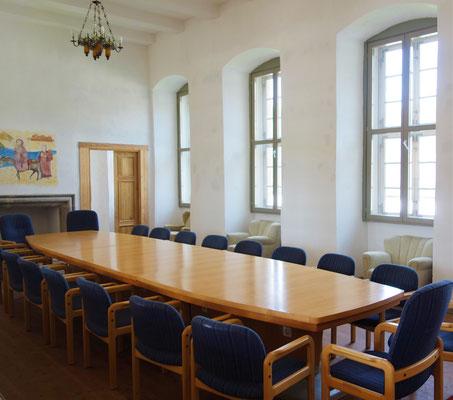 Der kleinere Tagungsraum im Obergeschoss des Westflügels. Foto: Jennifer Peppler