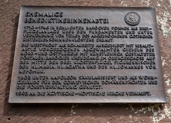 Geschichte des Klosters Brenkhausen. Foto: Jennifer Peppler