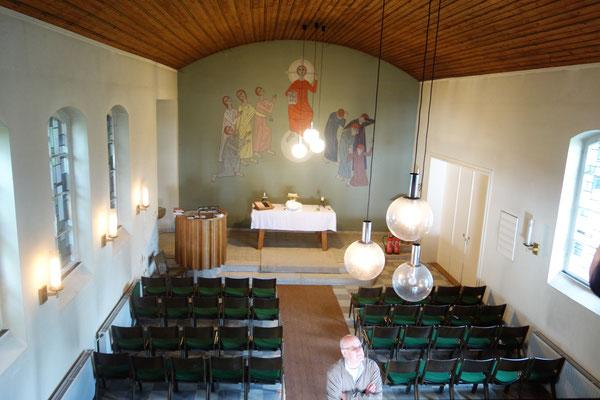 Die ehemailge evangelische Kapelle wird zur koptischen Kirche umgebaut. Foto: Daniela Rutica